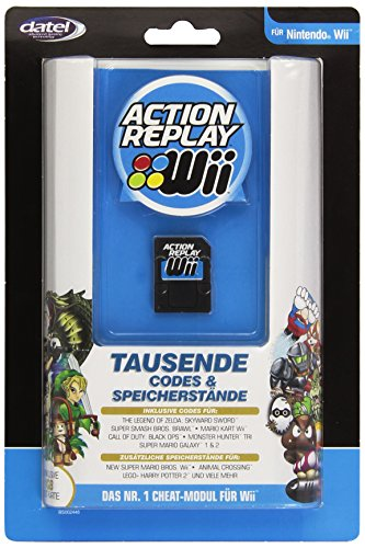 Wii - Action Replay (Codes & Speicherstände) inkl.1GB SD-Karte Wii Action Replay