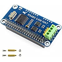 CQRobot RS485 Can Hat for Raspberry Pi Zero/Zero W/Zero WH/2B/3B/3B+, It Will Enables Your Pi to Communicate with Other Devices Stably in Long-Distance Via RS485/CAN Functions.