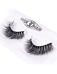 HENGSONG 3D Artificial Hair False Eyelashes Natural Thick Eye Lashes Makeup Extension (G)