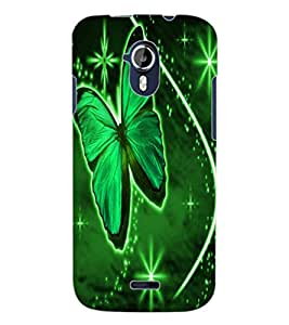 ColourCraft Lovely Butterfly Design Back Case Cover for MICROMAX CANVAS MAGNUS A117
