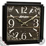 Square retro vintage clock - shabby chic Extra Large