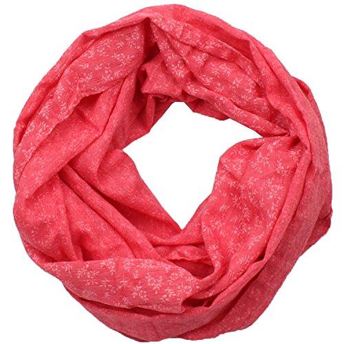 Damen Rundschal (Loopschal, Schlauchschal) Nr. 432 (Rot)