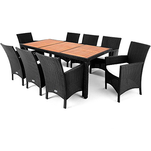 rattan-garden-furniture-dining-table-set-8-seater-acacia-wood-table-plate-7cm-cushion-outdoor-conser