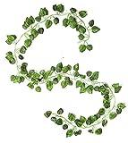 #2: Samriddhi Retail artificial Hanging Creeper Plant( Total Length:180cm, Green)