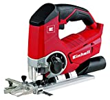 Einhell TE-JS 18 Li Solo Power X-Change 18 V Cordless Lithium Jigsaw with Pendulum Action - Red