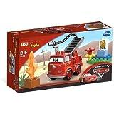 LEGO DUPLO Cars - 6132 - Jouet de Premier Âge - Rouge