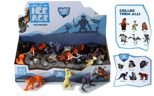 Ice Age 4 10er Figuren Satz Manny Sid Diego Scrat Shira Captain Gutt uvm