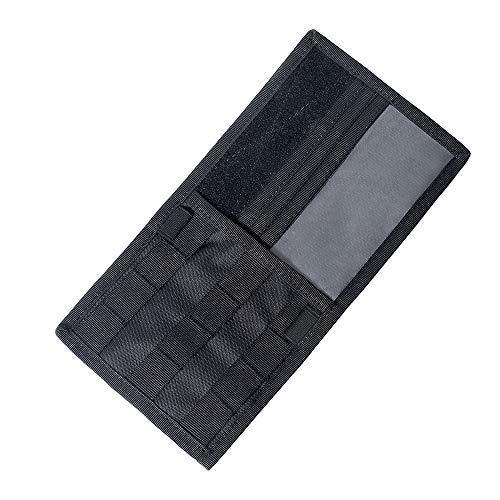 LIUYUNE,Taktische Auto-Sonnenblende-Multifunktionsaufbewahrungstasche für das Halten des Sonnenbrillen-Parken-Kraftstoff-Karten-Digital-Zubehörs(color:Einheitsgröße,size:Schwarz)