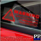 Best Rastreo GPS para los coches - 5 pegatinas de advertencia de presencia de dispositivo Review