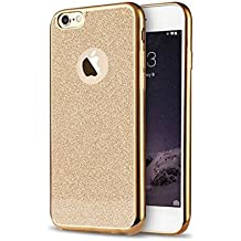 iPhone SE, 5S & 5, custodia con design con brillantini in morbido TPU | | Telefono di alta qualità | TPU Cover | Soft Case per proteggere il vostro iPhones di Sphinx Gear. gold Iphone SE, 5S & 5