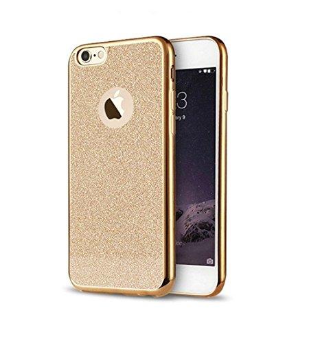 Iphone se, 5s & 5, custodia con design con brillantini in morbido tpu     telefono di alta qualità   tpu cover   soft case per proteggere il vostro iphones di sphinx gear. gold iphone se, 5s & 5