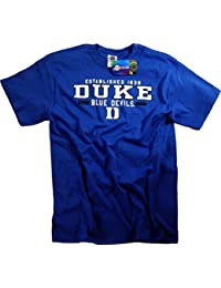 Duke Blue Devils Gorro de Camiseta de Manga Corta de T-Shirt Camiseta de fútbol