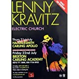Lenny Kravitz Poster Electric Church