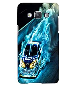 PrintDhaba Digital Car D-2227 Back Case Cover for SAMSUNG GALAXY E5 (Multi-Coloured)