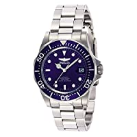 """Invicta INVICTA-9094 Reloj Automatico Unisex """"correa de acero inoxidable"""" Azul/Plateado/Plateado de Invicta"""