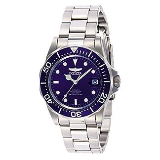 """Invicta INVICTA-9094 Reloj Automatico Unisex """"correa de acero inoxidable"""" Azul/Plateado/Plateado"""