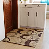 blanket Kann gewaschen Werden, abgesaugt Wohnzimmer Couchtisch Schlafzimmer Teppich Computer Stuhl Drehstuhl Matte Startseite tägliche Notwendigkeiten,0.6 * 0.9m,# 1