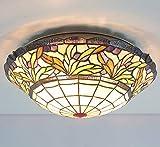 HBA 16 Zoll Bonbonfarbenen Art Glass Wendeltreppe Zimmer Restaurant Bar Cabaret Tiffany Decke