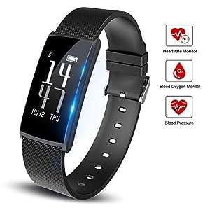 Fitfirst smart watch braccialetto intelligente orologio impermeabilità IP67 sportivo pedometro monitore di sonno allarme cardio frequenzimetro Calcolo delle calorie