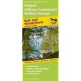 Rad- und Wanderkarte Naturpark Feldberger Seenlandschaft - Nördliche Uckermark: Mit Ausflugszielen, Einkehr- & Freizeittipps, reissfest, wetterfest, abwischbar, GPS-genau. 1:60000