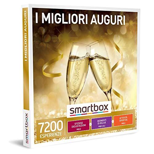 Smartbox - i migliori auguri cofanetto regalo multiattività degustazioni o momenti di benessere o attività sportive per 1 o 2 persone