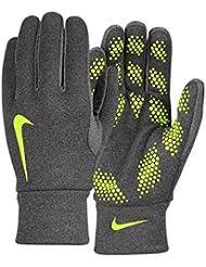 Nike Hyperwarm Field Player Glove - Guantes unisex, color azul / lima, talla S