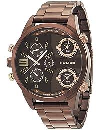 Police P14374JSBN-12M - Reloj de pulsera para hombre, color cobre