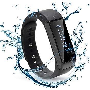 wadeo fitness armband mit blutdruckmessung wasserdicht mit. Black Bedroom Furniture Sets. Home Design Ideas