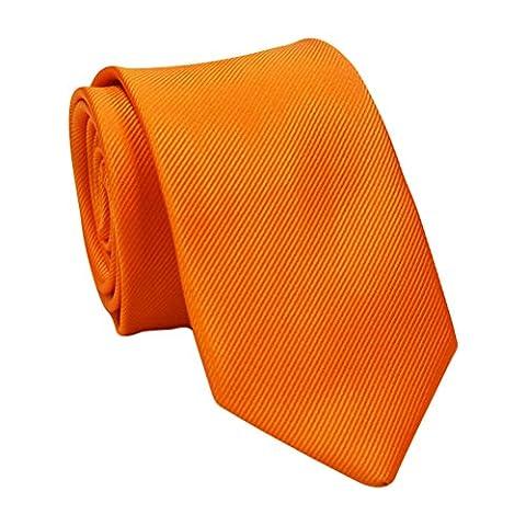 Zhuhaitf Qualité Stable Mens Necktie Work Ties Solid Color