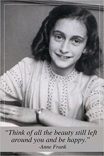 Anne Frank Foto Zitat Poster Inspirierende Motivational Historic 24x 36 (Motivational Poster 24x36)