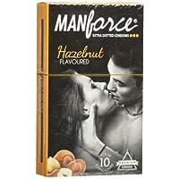 Manforce Haselnuss Extra-punktierte Kondome 10 Stücke von GladnessEra preisvergleich bei billige-tabletten.eu
