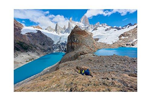 Fotographischer Druck von Mount Fitzroy, Patagonien