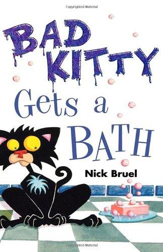 Bad Kitty Gets a Bath por Nick Bruel