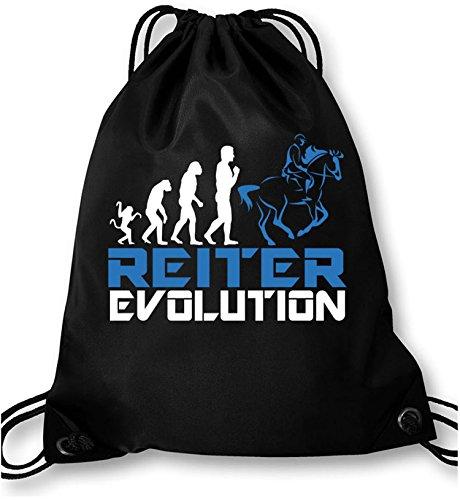 EZYshirt® Reiter Evolution Turnbeutel