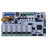 Unterbrechen 3D Drucker Start Mutter Board Rumba Board Stepper Treiber + 6Kühlkörper
