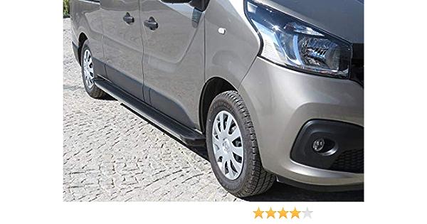 Trittbretter Passend Für Renault Trafic L1 H1 Und L1 H2 Ab Baujahr 2014 Model Truva In Schwarz Mit TÜv Und Abe Auto