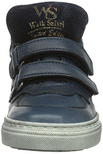 Walk Safari WM52011A, Baskets mode bébé garçon Bleu (Bluette/ Cuoio)