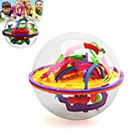 1PCS Intellect 3D Maze Ball Toys Gift Independent Play for Children Containing Different Challenging Barriers