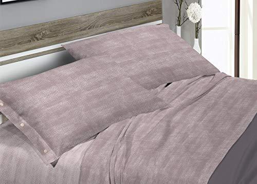 Parure de lit en 100% coton fantaisie Bon Bon Maxi beige