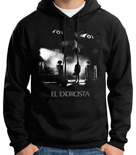 35mm – Sudadera con Capucha El Exorcista-The Exorcist Terror Movie, Unisex