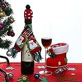 Best Adornos de Navidad desconocidos - Product1pc - Fundas para botellas de vino, diseño Review