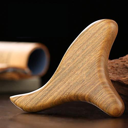 CZZ dreieck Vogel Meridian Pinsel schaben Instrument, fußmassagegerät, punktstock, Holz manuelle fuß akupressur Stick,B,Massagegerät