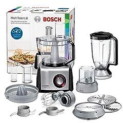 Idea Regalo - Bosch MC812M844 Robot da Cucina Multifunzione, 1250 W, Alluminio