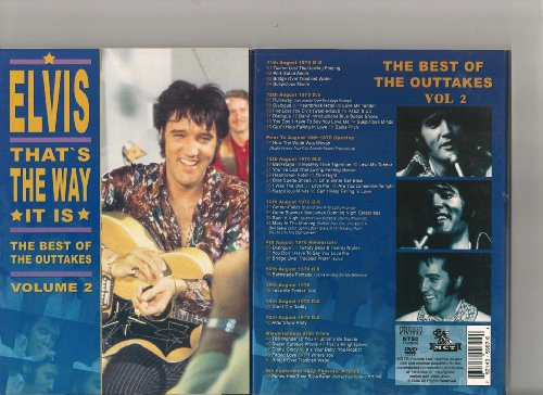 elvis presley that's the way it is outtakes vol.2 dvd digipack 6hoo inédits 1970 différents ! rare !