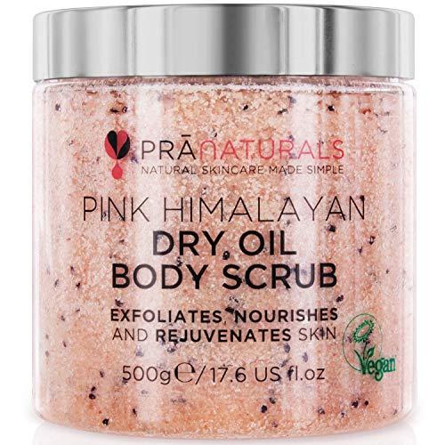Scopri offerta per Scrub corpo al Sale dell'Himalaya PraNaturals 500 g, Ricco di minerali naturali e vitamine nutrienti, Elimina le cellule morte e ringiovanisce la pelle, Ideale per tutti i tipi di pelle