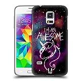 Head Case Designs Einhorn Nebel Kunst Ruckseite Hülle für Samsung Galaxy S5 Mini
