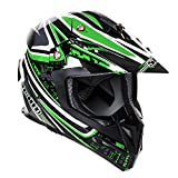 Stealth Mx Helm 2015 Hd210 Droid Grun (Xs 53-54Cm , Grun)
