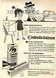 1960 - Inserat / Anzeige: CENTRALIN BALSAM / MUTTI WEISS ES SCHON- Format ca. 110x220 mm - alte Werbung / Originalwerbun