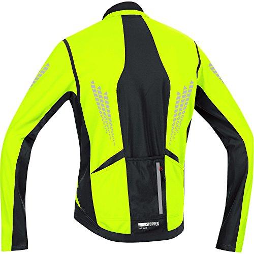 Gore Bike Wear - Giacca XENON 2.0 WINDSTOPPER Soft Shell, Taglia: S, Colore: Bianco/Rosso blanco - White - White/Black