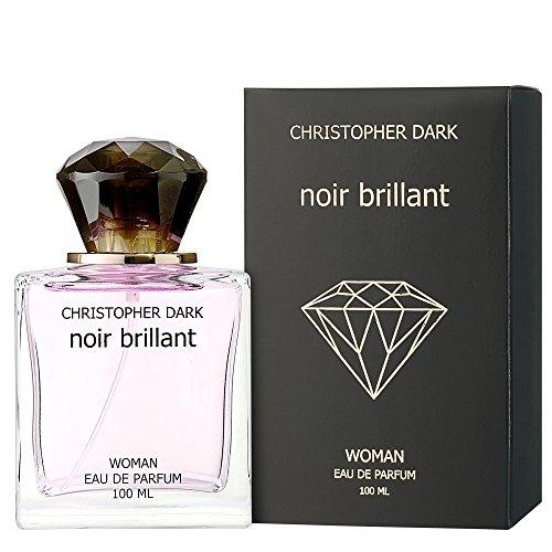 Christopher Dark Noir brillant Eau de Parfum Natural Spray für Frauen 100ml - Versace Natural Spray